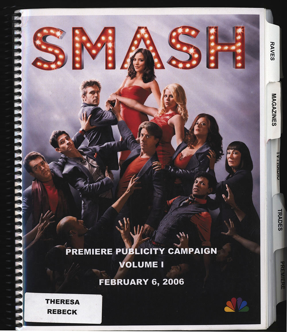 Promotional campaign book for Smash, volume one of three, 2006 (sic)