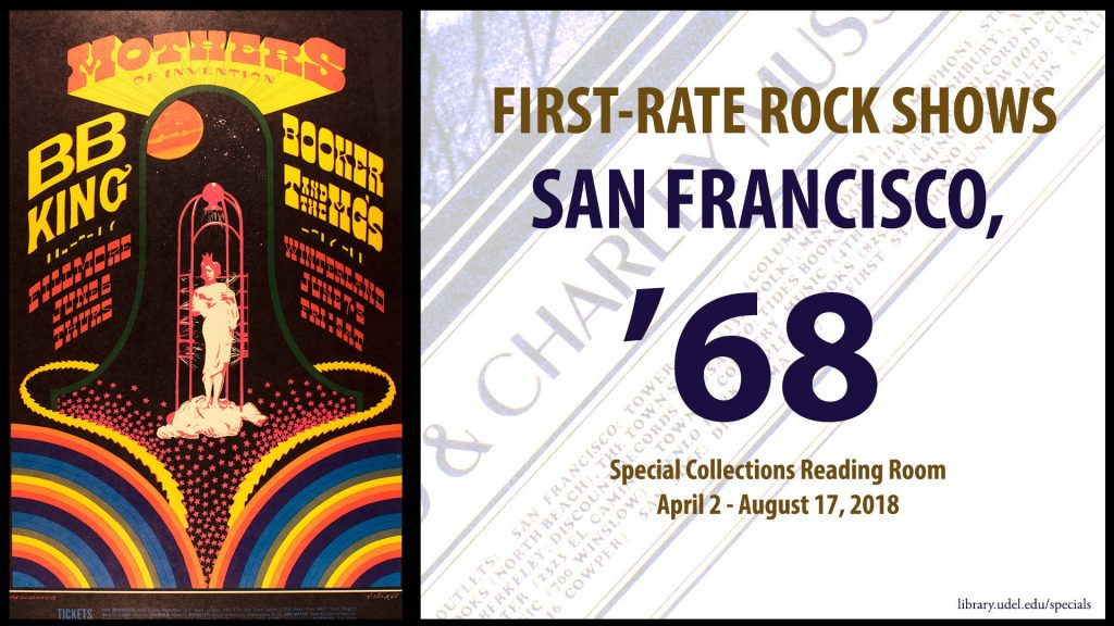 "Poster for ""First-Rate Rock Shows: San Francisco '68"
