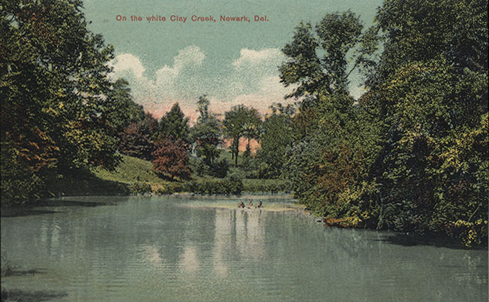 Postcard of the White Clay Creek