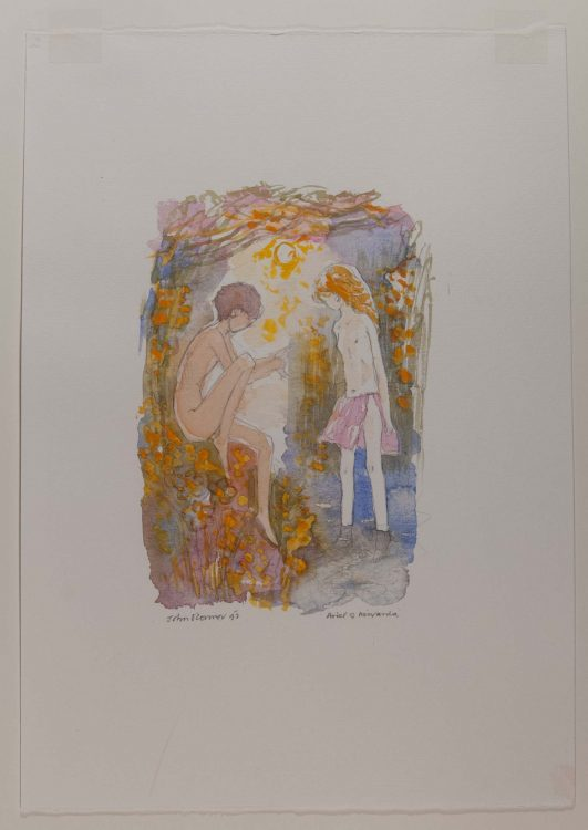 Ariel & Miranda: seven wood engravings