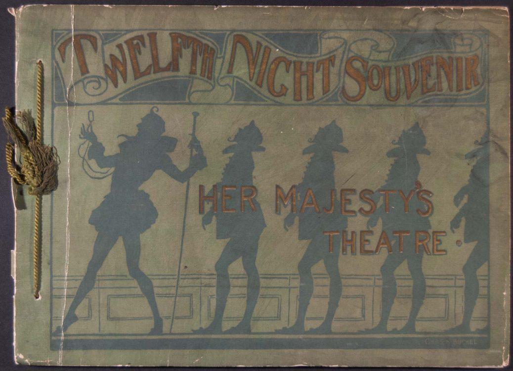 "Souvenir of Shakespeare's comedy, ""Twelfth Night"""