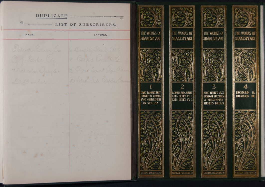 The Henry Irving Shakespeare: the works of William Shakespeare