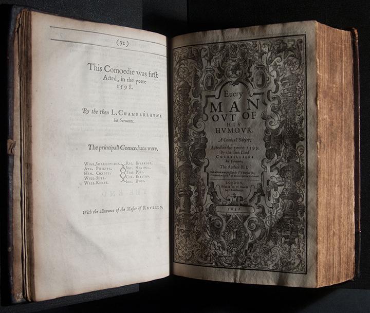The Workes of Beniamin Jonson neque me vt miretur turba, laboro: Contentus paucis lectoribus