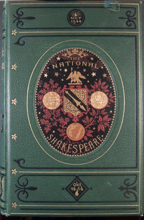 The national Shakespeare: a fac-simile of the text of the first folio of 1623