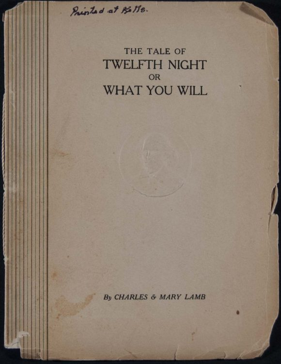 The tale of Twelfth night, or, What you will