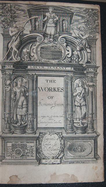 The workes of Beniamin Jonson