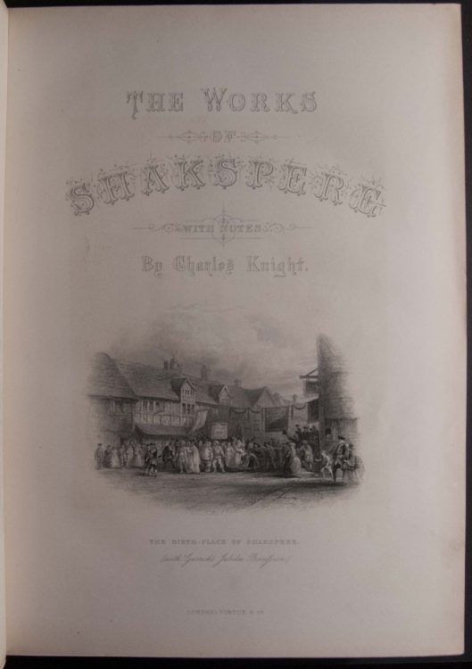 The works of Shakspere