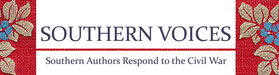 Banner Image for Southern Voices: Southern Authors Respond to the Civil War