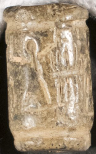 Cylinder Seal, forgery of an ancient Mesopotamian artifact