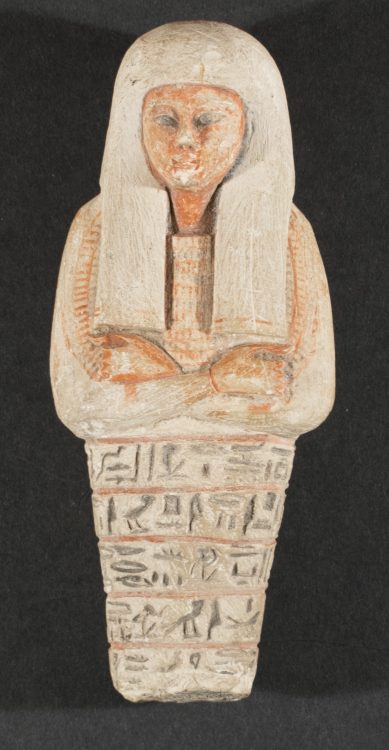 Shabti with Hieroglyphs, forgery of an ancient Egyptian artifact