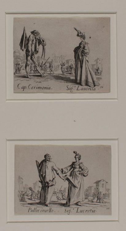 Commedia Figures– Copy of Jacques Callot (1592 – 1635)
