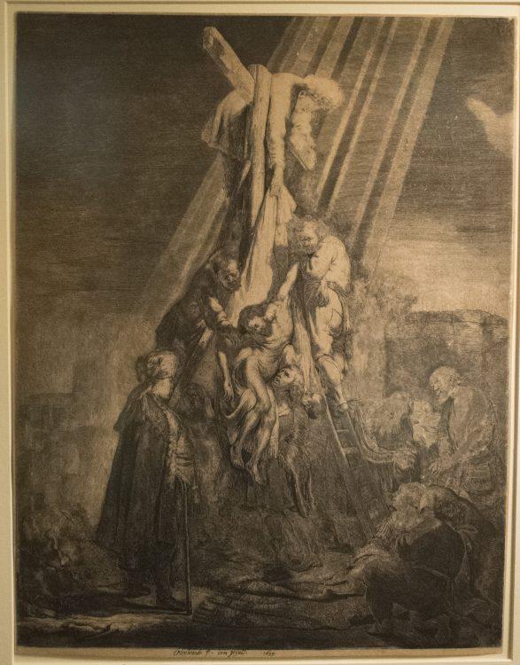 Descent From the Cross– Rembrandt Harmenszoon van Rijn (1606-1669)