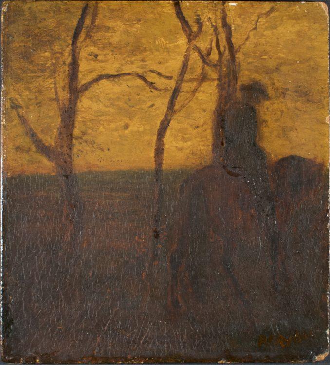 The Horseman–Forgery of Albert Pinkham Ryder (1847-1917)