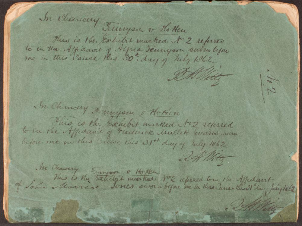 Poems. MDCCCXXX – MDCCCXXXII (2)– Alfred Tennyson (1809-1892)