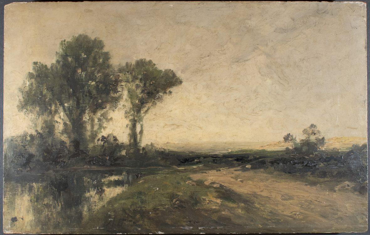 Landscape– Forgery of A. H. Wyant (1836-1892)