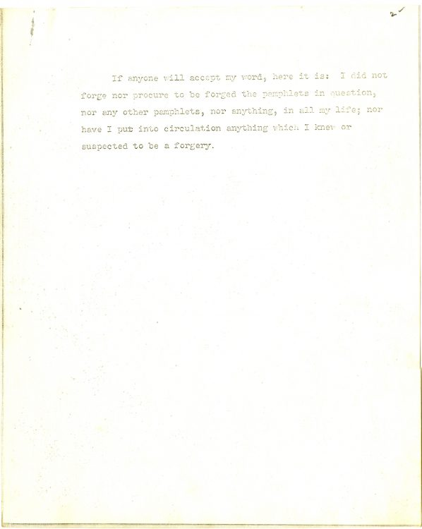 """""""Wise's Suppressed Statement, 19 July 1934. A Xerox Replica."""" Page 2"""
