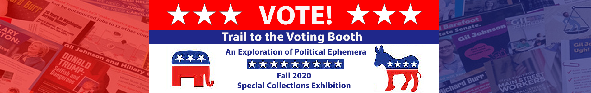Banner Image for Trail to the Voting Booth