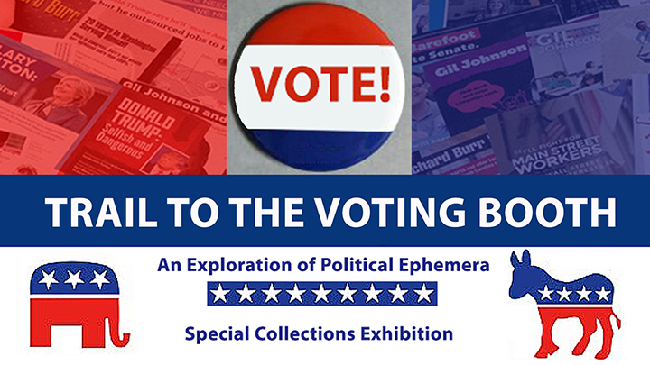Slideshow Image for Trail to the Voting Booth