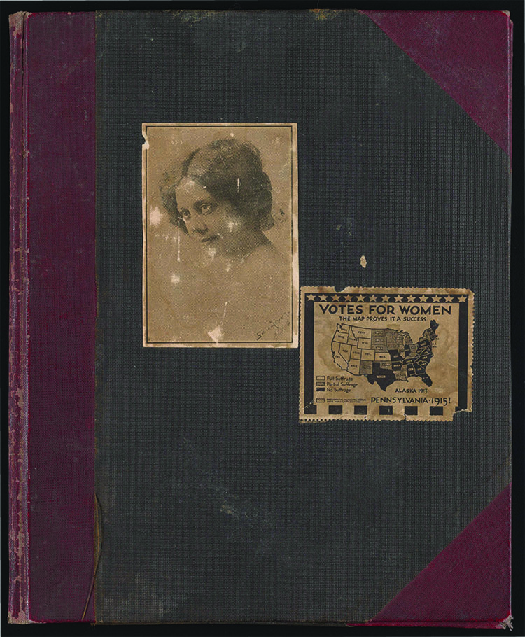 Alice (Alice Ruth Moore) Dunbar-Nelson (1875-1935). Alice Dunbar-Nelson scrapbook 3, 1915. Alice Dunbar-Nelson papers.