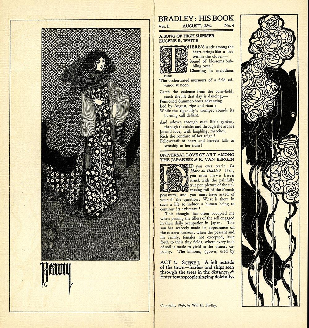 """""""Beauty,"""" Bradley: His Book, Vol. 1, No. 4"""
