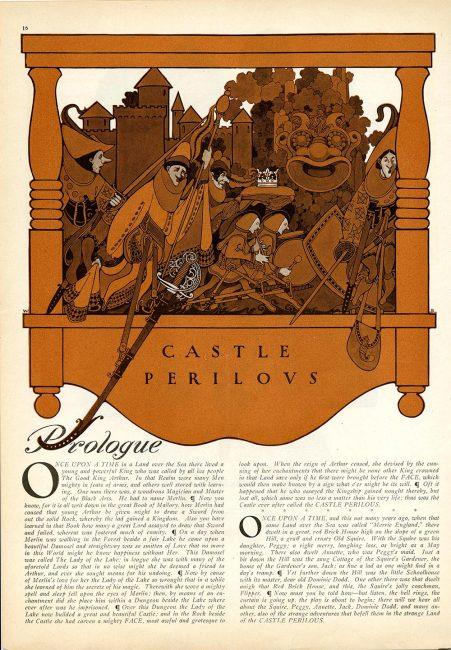 """Castle Perilous,"" Collier's Weekly"