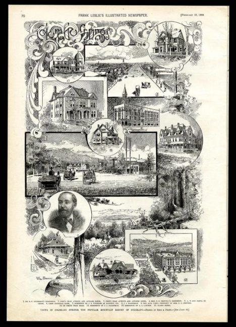 """Colorado Springs."" Frank Leslie's Illustrated Newspaper"