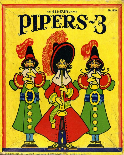 """""""Pipers-3"""" game."""