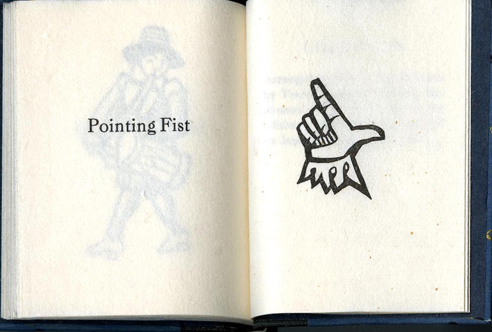 """""""Pointing Fist,"""" The Chap-Book Cuts of Will Bradley"""