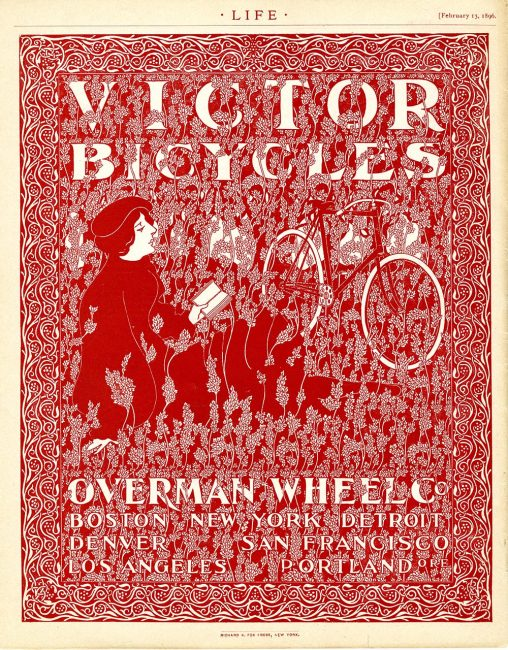 """""""Victor Bicycles"""" advertisement"""
