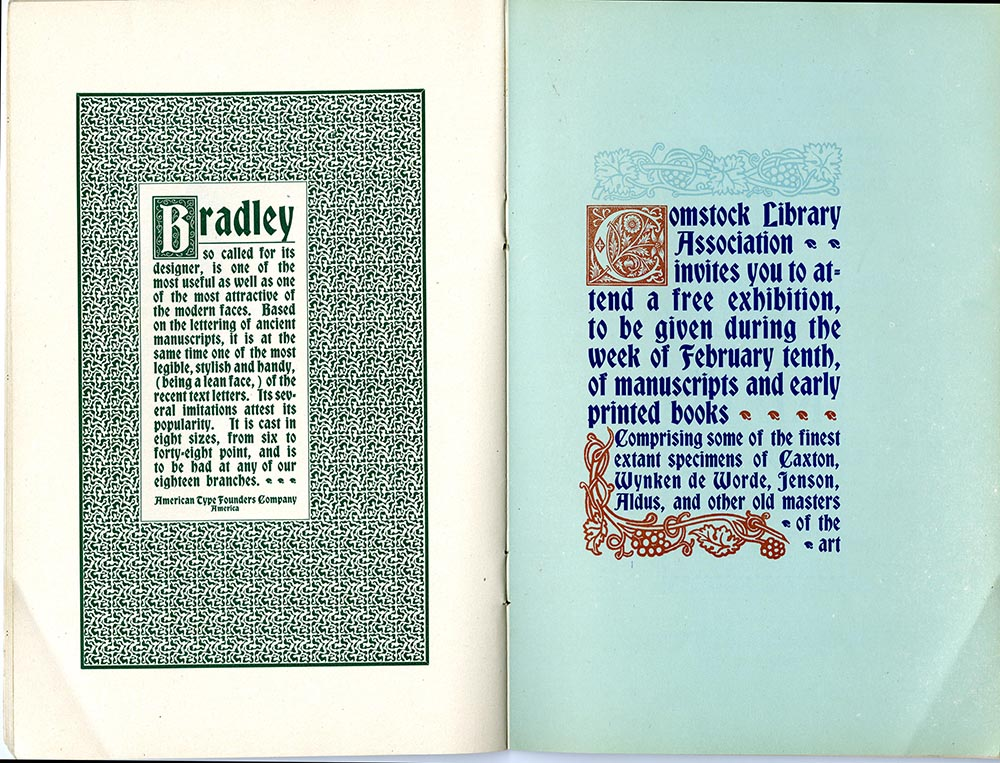 Bradley Outline Series. The Inland Printer