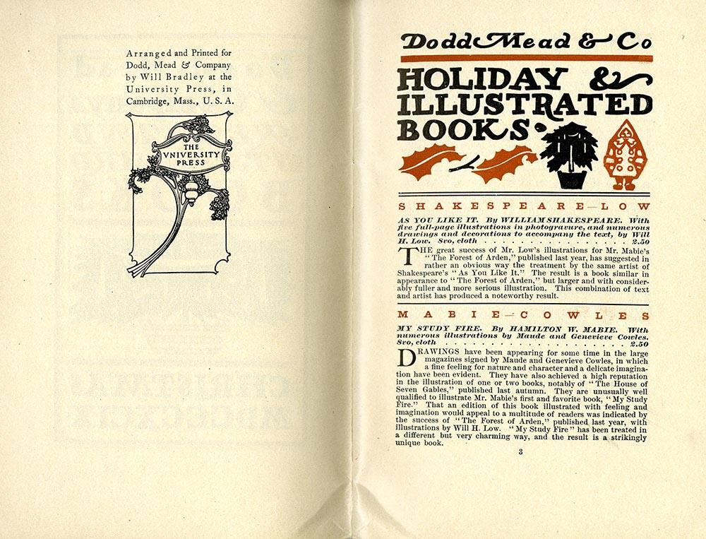 Catalog, Dodd, Mead & Co.'s New & Standard Books