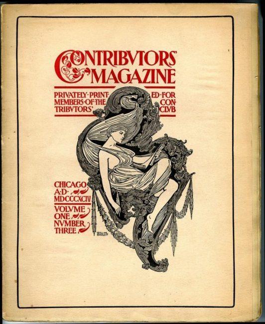 Cover ofContributors' Magazine