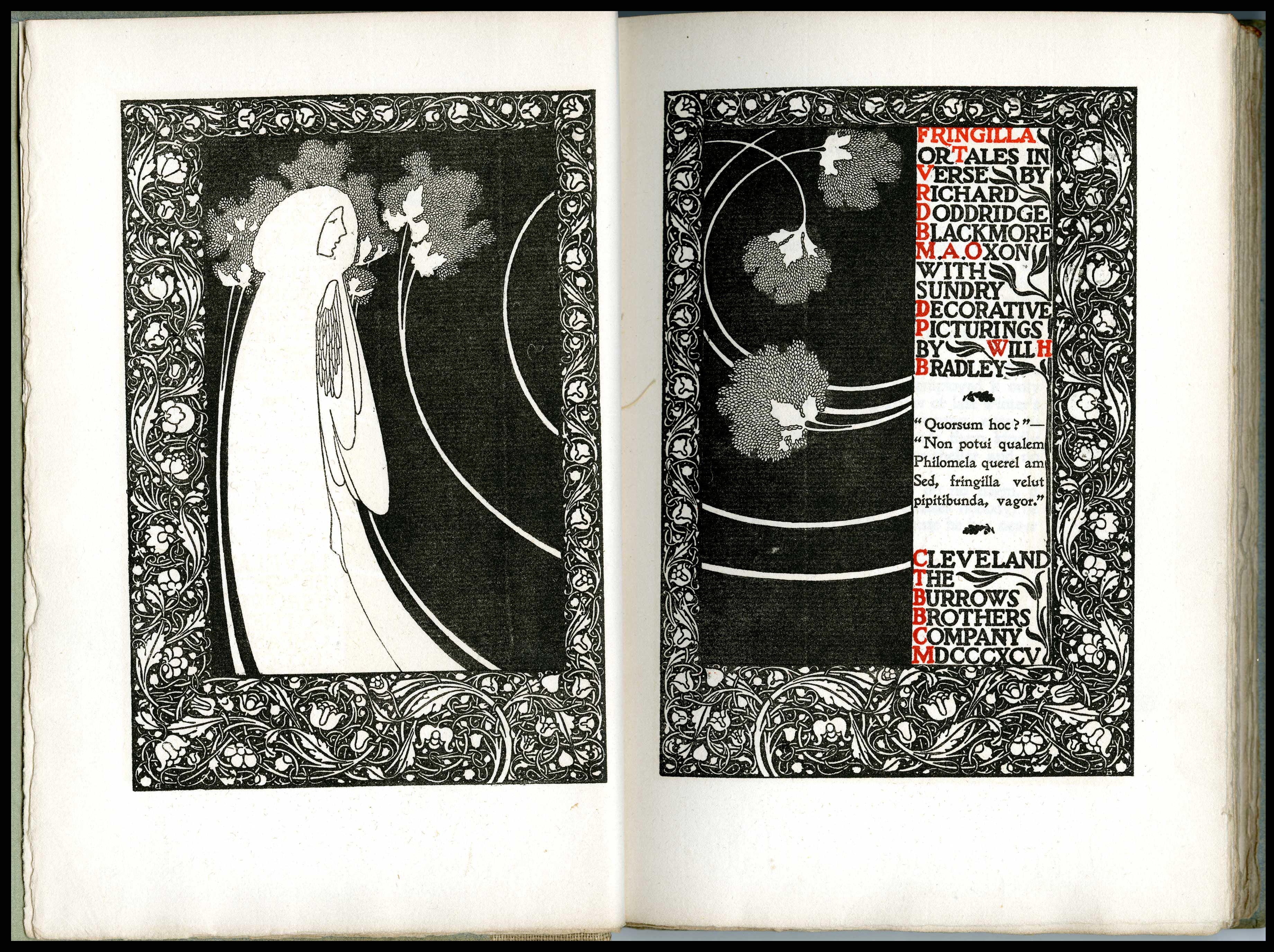 Fringilla or Tales in Verse