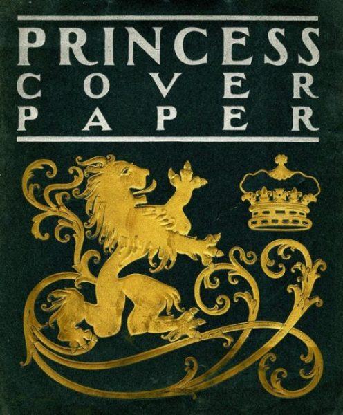 Princess Cover Paper [paper sample booklet]