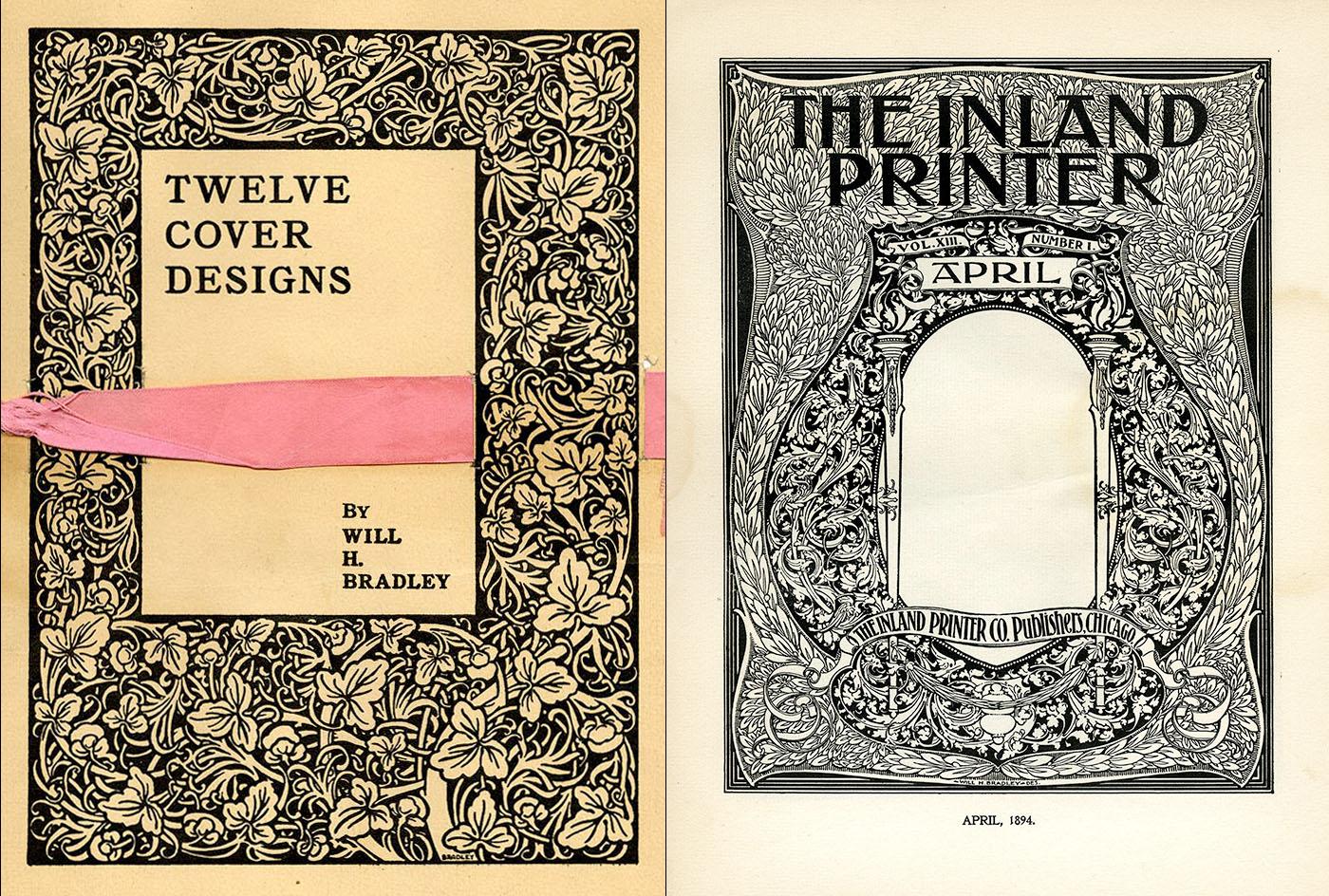 Twelve Cover Designs By Will H. Bradley