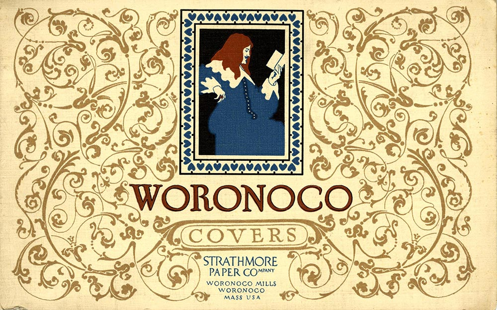 Woronoco Covers [paper sample booklet]