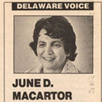 In Memoriam: June D. MacArtor, Esquire, Delaware's Environmental Guardian (Archived)