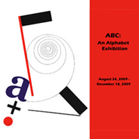 ABC: An Alphabet Exhibition (Archived)
